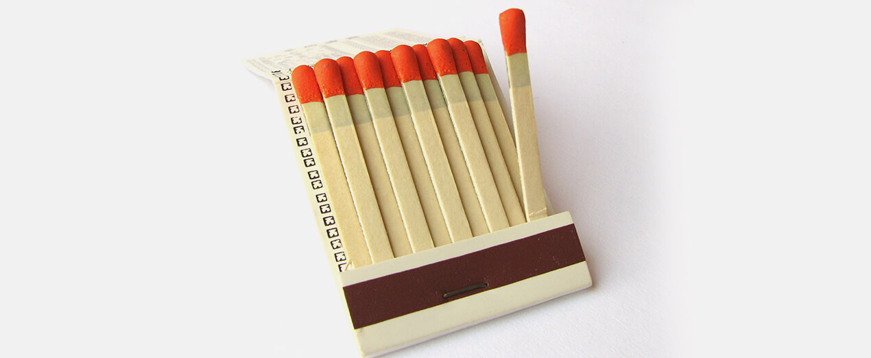 book-matches